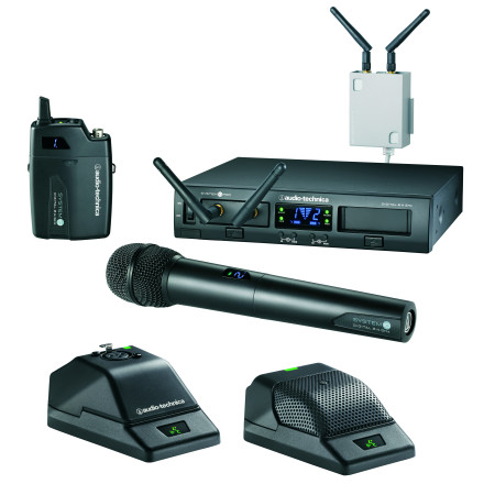 System 10 PRO Rack-Mount Digital Wireless System