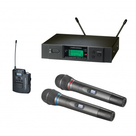 Frequency-agile True Diversity UHF Wireless Systems