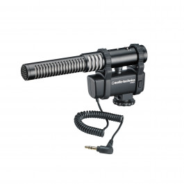 Stereo/Mono Camera-Mount Microphone
