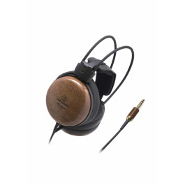 Audiophile Closed-back Dynamic Wooden Headphones