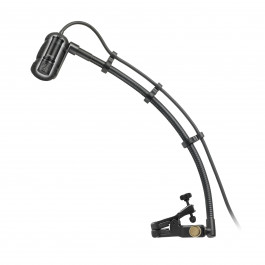 "Cardioid Condenser Instrument Microphone with Universal Clip-on Mounting System (9"" Gooseneck)"
