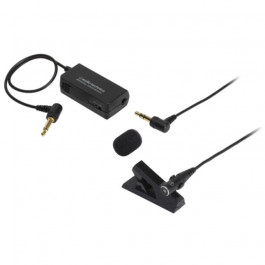 Mono mini electret condenser lapel mic for digital recording